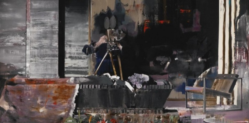 Pictorul Adrian Ghenie a vândut trei tablouri cu aproape 1,4 milioane de euro