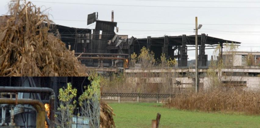 Combinatul Metalurgic, ruină pentru fier vechi