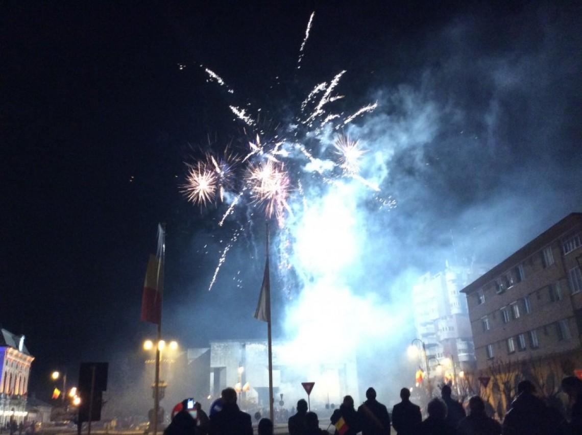Ziua Unirii:  Focuri de artificii şi steaguri tricolore