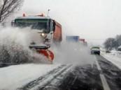 Nu sunt drumuri judeţene afectate de căderile de zăpadă