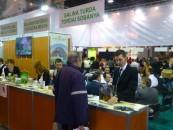 Salina, la  Târgul Internaţional de Turism de la Budapesta