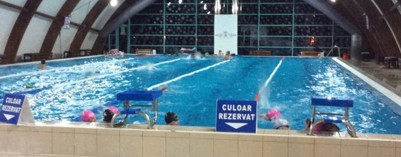 Salina închide bazinul de înot  pentru igienizarea periodică