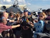 Gen.lt. Darryl Roberson: Exerciţiul aerian  nu e doar  un răspuns pentru Putin şi Rusia, ci parte dintr-un plan de securitate