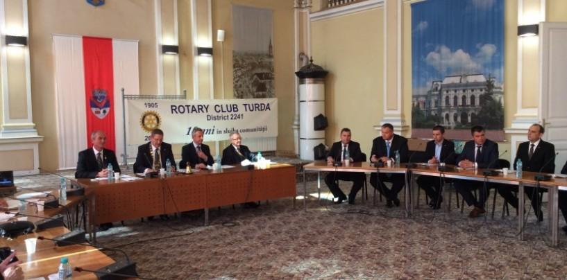 Clubul Rotary Turda împlinește 10 ani de activitate