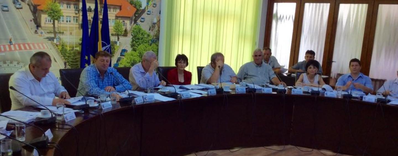 Cristel Frânc acuzat că a copiat planul de reorganizare. Primarul Hanga şi Petre Pop s-au luat cu mâinile de cap