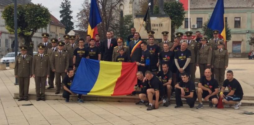 Primarul Municipiului Turda a întâmpinat drapelul românesc adus de la Oarba de Mureș