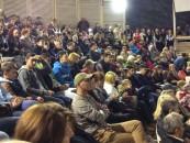 Amfiteatru neîncăpător la concertul folcloric din Salină