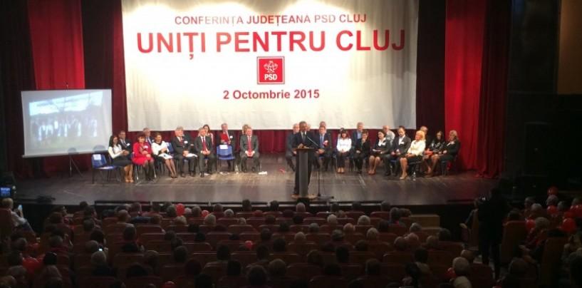 Social democrații clujeni au încheiat campania internă. Remus Lăpușan, ales președinte al  PSD Cluj