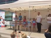Cupa Salina Turda la înot , o editie de succes cu recorduri ale micilor înotători