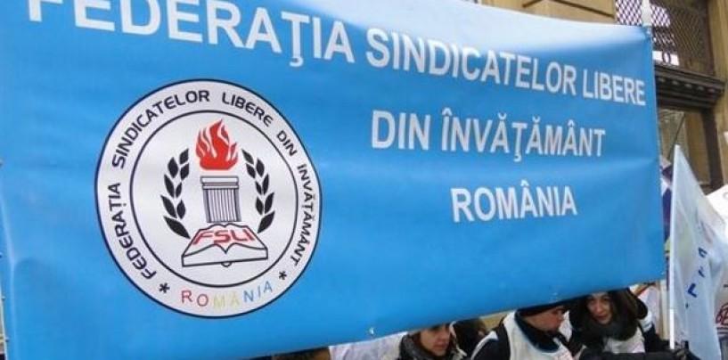 Zeci de sindicaliști clujeni participă la protestele din capitală