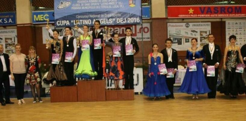 10 medalii pentru dansul sportiv turdean
