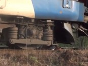 Un bărbat de 50 ani spulberat de tren în judeţul Cluj