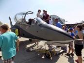 Show aviatic de excepție la Baza aeriana 71 din Câmpia Turzii