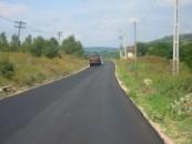 Consiliul Județean anunță finalizarea turnării asfaltului pe DJ Fundătura-Cornești