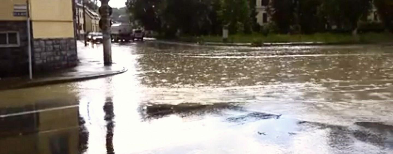 Județul Cluj sub ploaie, vânt și grindină