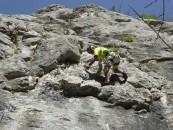 Alpiniștii înfruntă muntele la Memorialul Misi Szalma