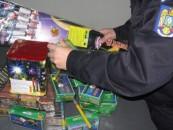 Clujul verificat și amendat pentru articol pirotehnice
