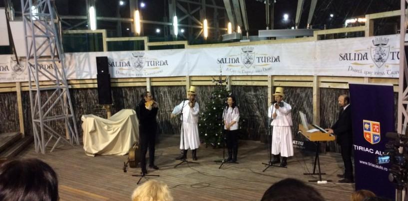 Amfiteatru plin la Concertul de Crăciun din Salină