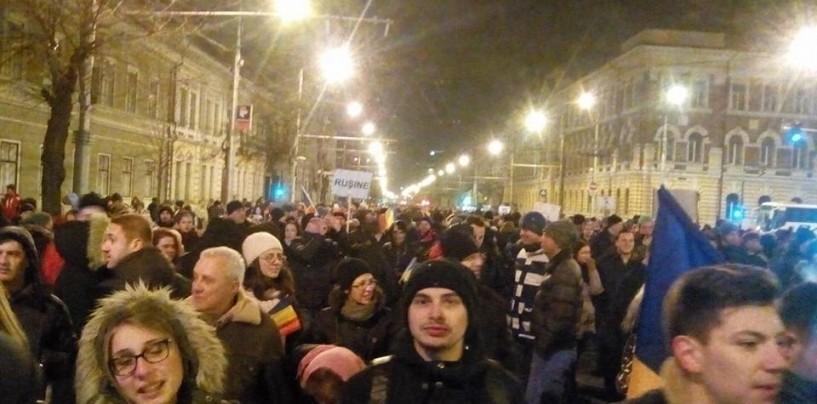Ample proteste în județul Cluj