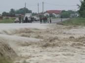 Cod galben de inundații până sâmbătă în județul Cluj