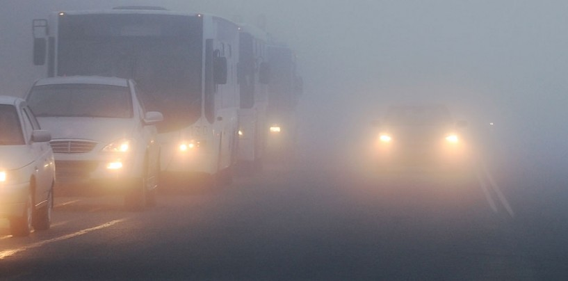 COD GALBEN de vânt şi ceaţă în județul Cluj