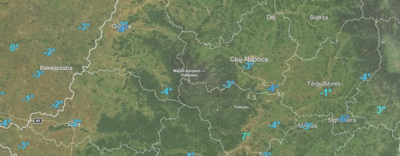 Prognoza meteo pentru intervalul 13-19 februarie în județul Cluj