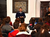 Polițiști și elevi la Muzeu. Galerie foto