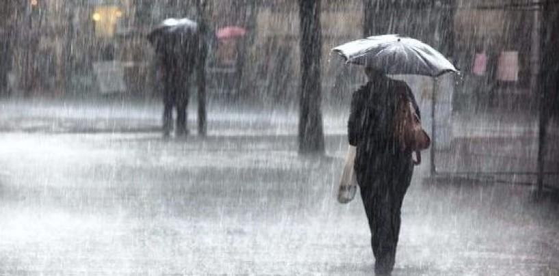 Ploi și frig se anunță de miercuri în județul Cluj