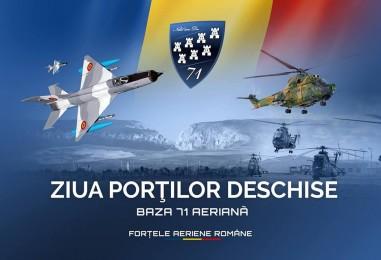 Ziua Porților Deschise la Baza Aeriană 71 din Câmpia Turzii