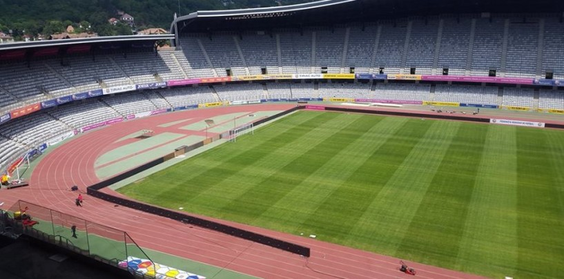 Stadionul Cluj Arena, pregătit pentru amicalul de lux al României cu Chile