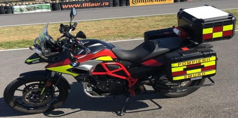 Motocicletele SMURD vor defila în piața Unirii
