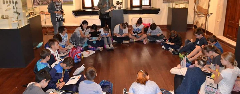 Activități pentru elevi la muzeul din Turda