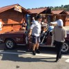 Mașini retro la Salina Turda. Vedeta, un Volvo din 1967