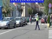 Acțiune de amploare a polițiștilor rutieri în județul Cluj. Video