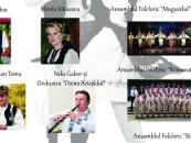 Spectacol folcloric aniversar la Câmpia Turzii