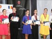 16 medalii cucerite de tinerii sportivi turdeni la Cupa României la dans sportiv
