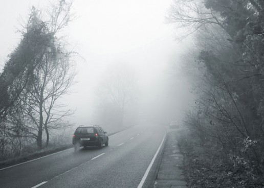 Ceață în Cluj și în Transilvania