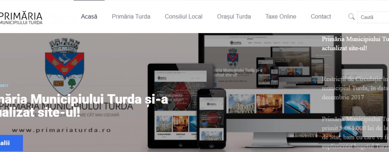 Primăria Turda are un nou site. Hotărârile Consiliului Local sunt publicate incomplet