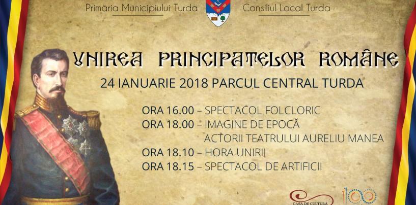 Mica Unire sărbătorită şi la Turda