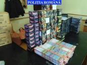Peste 40 de tone de petarde au fost confiscate de polițiști