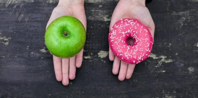 De ce alegem o gogoaşă în locul unui măr