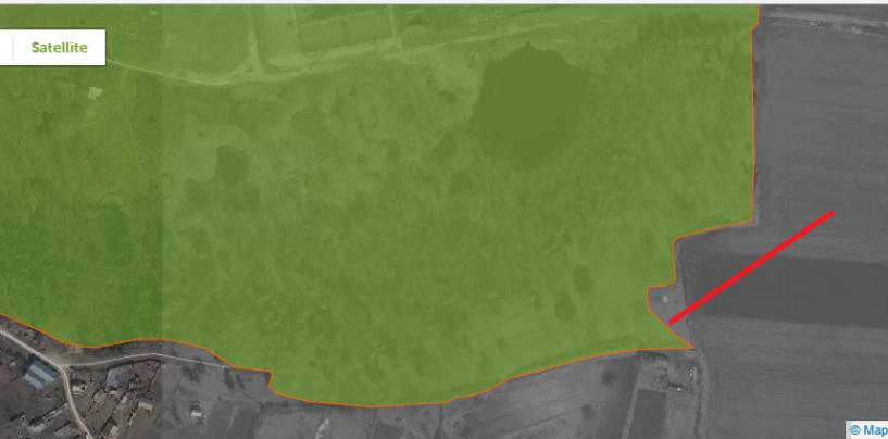 Primăria vrea să elimine un teren din rezervația naturală Ocna Veche. Dinozaurii de plastic par mai importanți ca natura
