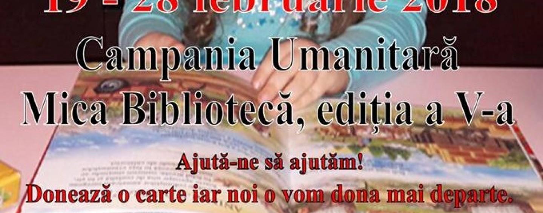 """Comunicat – Campania """"Mica Bibliotecă"""""""