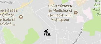 Problemele din traficul clujean aflate în timp real prin aplicaţia Cluj Now