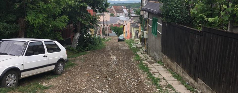 Stațiunea balneoclimaterică Turda,  inundată. Locuitorii fac filmulețe cu străzile unde curg pâraiele