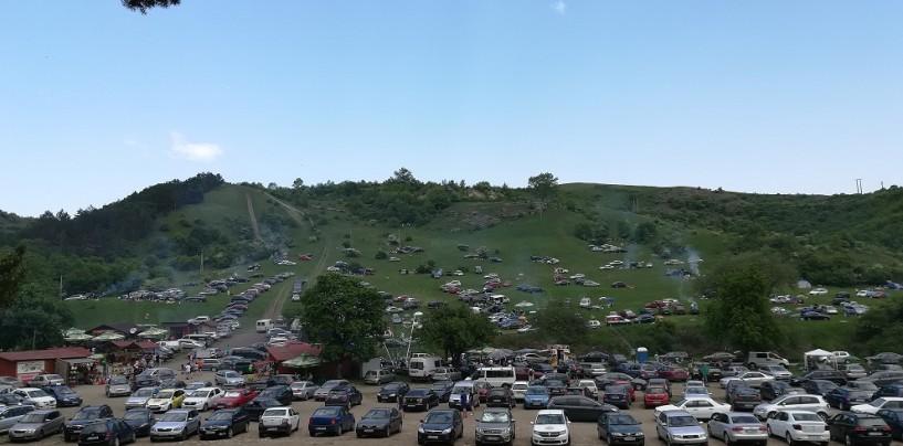 Mii de turiști în Cheile Turzii în perioada minivacanței de 1 Mai