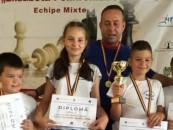 Juniorii şahişti de la Şcoala Ioan Opriş, campioni naţionali