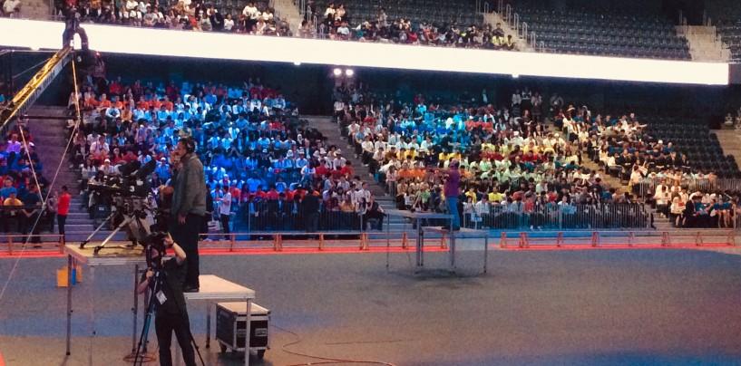 Olimpiada Internațională de Matematică. Deschiderea oficială. Președintele României participă  la ceremonie