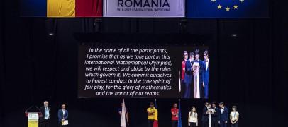 România ocupă locul 33 la Olimpiada Internațională de Matematică de la Cluj