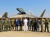 F-22 Raptor, la exerciții comune cu avioanele militare din Câmpia Turzii